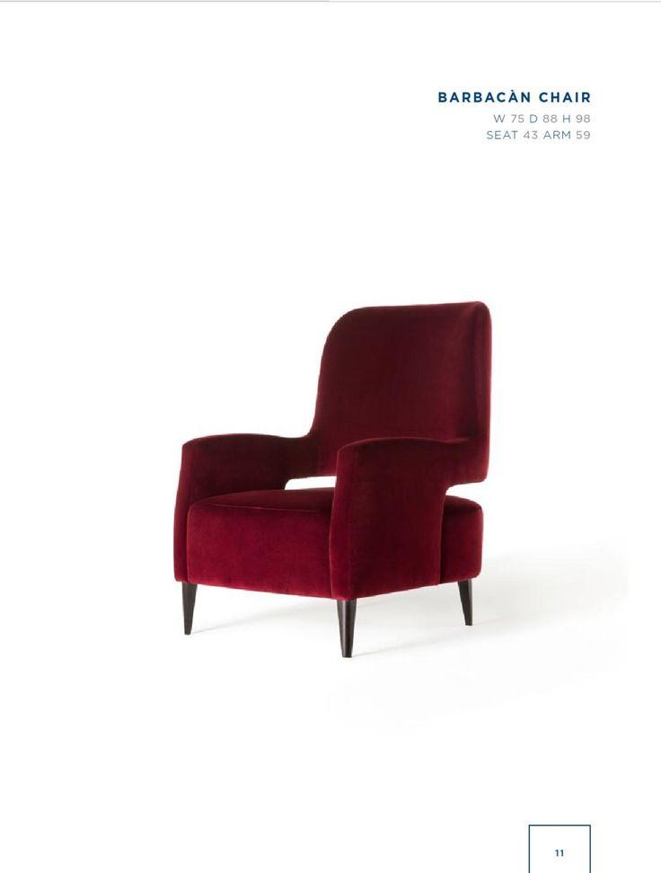 Rubelli Casa - Barbacan chair