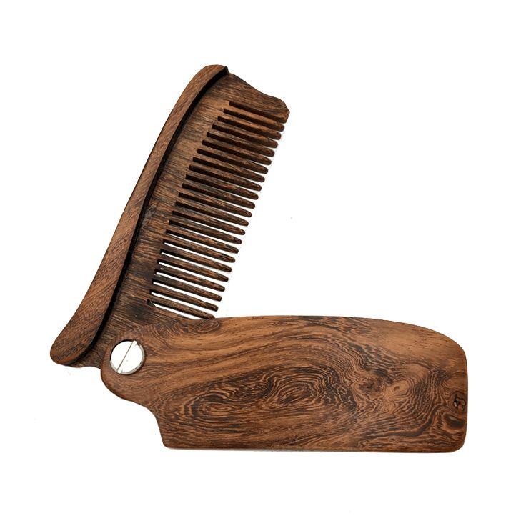 The Sandalwood Beard Comb