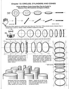 Worksheets Ellipses Worksheet 48 best images about art instruction draw shapes on pinterest how to cylinders in space google search