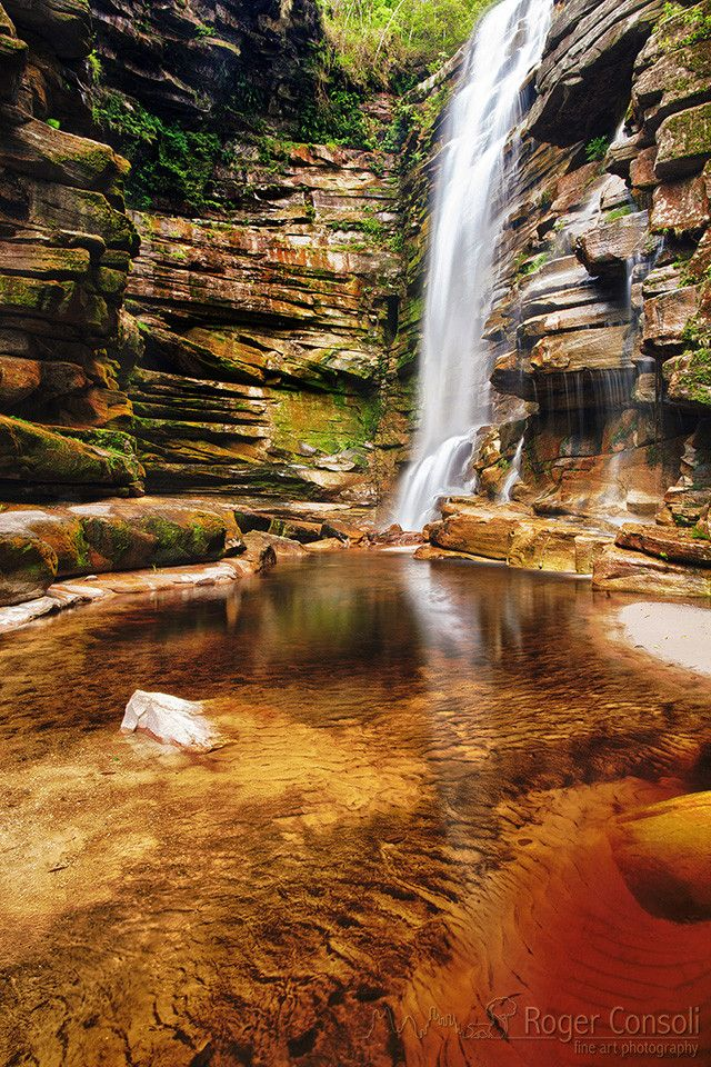Mosquitoes Falls, Chapada Diamantina National Park, Bahia - Brazil