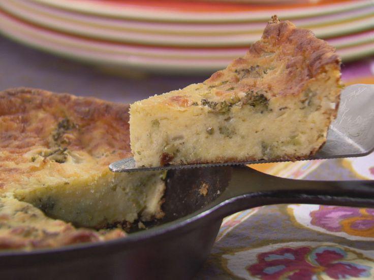 Broccoli Cornbread recipe from Trisha Yearwood via Food Network