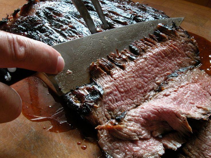 Grilled Flank Steak   Recipe
