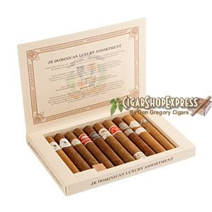 New Online Cigar Deal: Cigar Samplers Dominican Luxury Sampler Various $49.75 added to our Online Cigar Shop https://cigarshopexpress.com/online-cigar-shop/cigars/cigars-cigar-samplers/cigar-samplers-dominican-luxury-sampler-various/ Cigar Samplers Dominican Luxury Sampler Various Cigar samplers make great holiday presents that will increase your fame and enjoyment. They are also a great way to introduce your ...