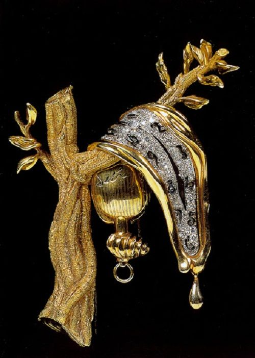 Jewelry art by Salvador Dali