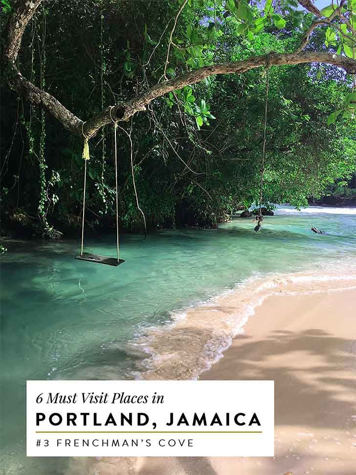 Portland Jamaica is a relaxing getaway. From frenchman's cove to the blue lagoon here are all the things to do in Jamaica. Read on for my travel guide!