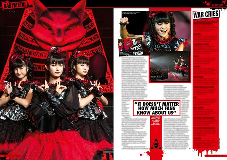 【METAL HAMMER】issue.281 : BABYmatoMETAL