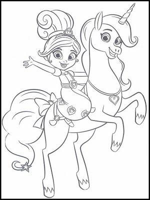 desenhos da lulu nella uma princesa corajosa desenhos