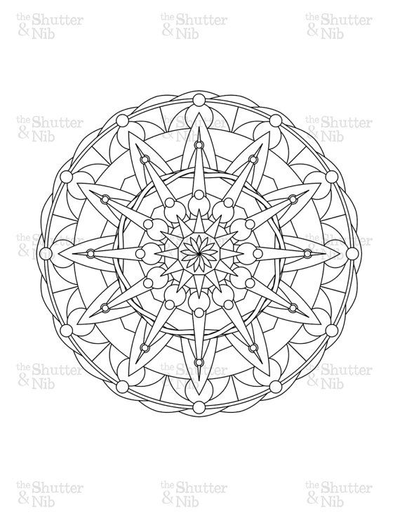 Line Art Mandala : Best images about coloring pages on pinterest