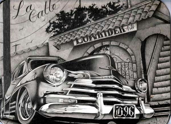 17 Best images about Lowrider ArT on Pinterest | Latinas, Chicano ...