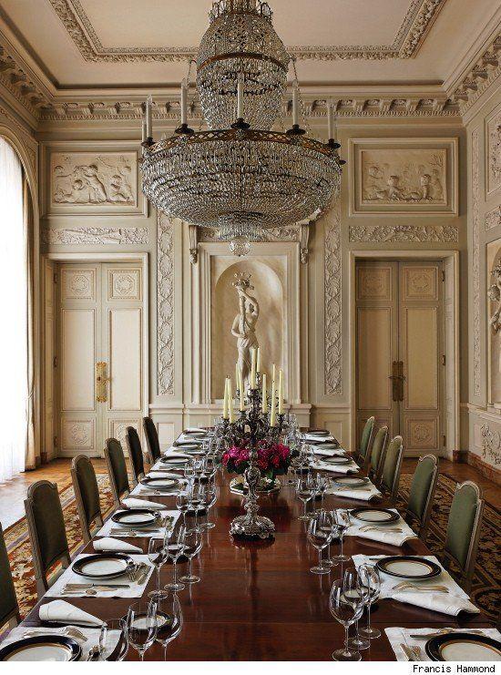 Hotel De La Tour DAuvergne Republic Of Chile With An Entire Interior Designed By Pierre Adrien Pris French 1745