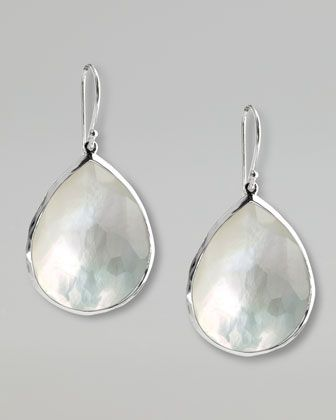 Mother Of Pearl Teardrop Earrings Large Style I Like Pinterest Jewelry And Pearls