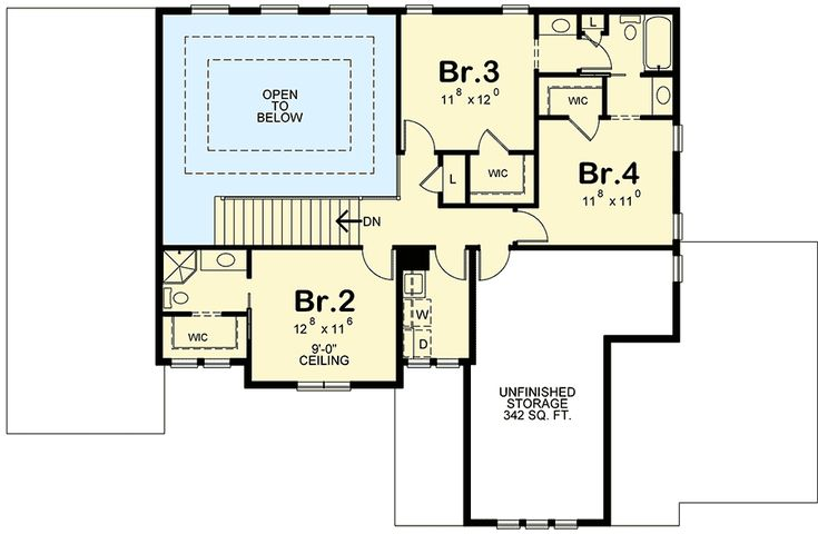 4 Bed Prairie Style House Plan - 42381DB | 1st Floor Master Suite, Butler Walk-in Pantry, CAD Available, Den-Office-Library-Study, Jack