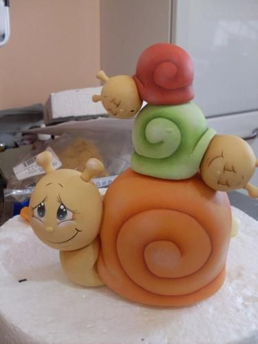 Such cute snails