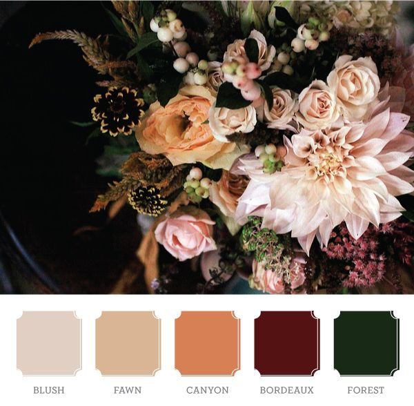 Gorgeous. I have to find a room and make it these colors soon! Or maybe I'll make this my Christmas palette...