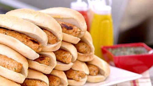 Hot-dogs au poulet