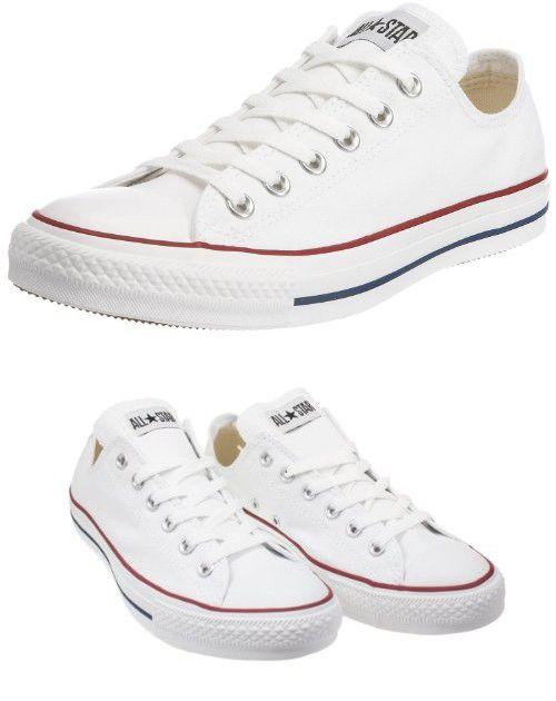 9e4d1213cc3e82 Converse Men s Chuck Taylor All Star Low Top Sneaker Optical White 5 ...