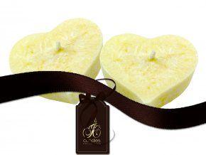 plovoucí svíčky - lemon balm