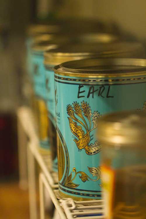 Earl Grey Tin Tea Box