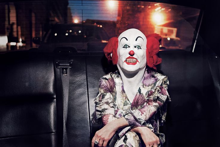 Cindy Sherman photographed by Steven Klein on her way to the Concrete Jungle Gala. See more from the Masquerade series at http://www.ifitshipitshere.com/steven-klein-masquerade/