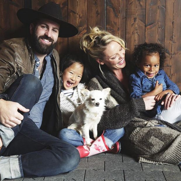 Katherine Heigl and Josh Kelley's daughters are getting so big: See the new family portrait