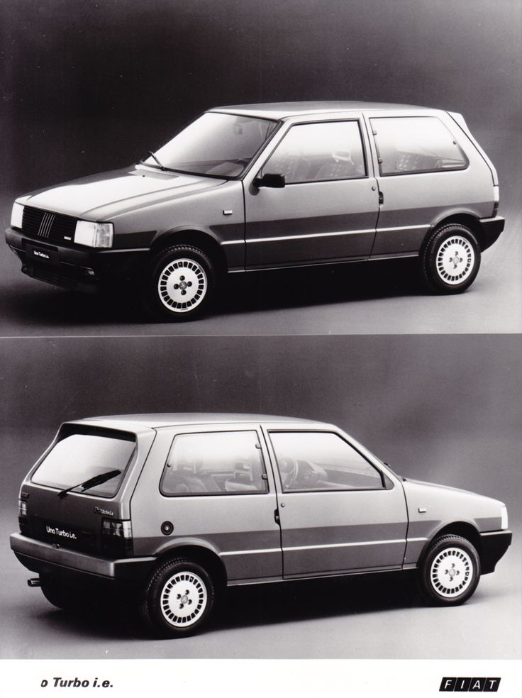Fiat Uno Turbo i.e. (Salon Brussels, 1/86)