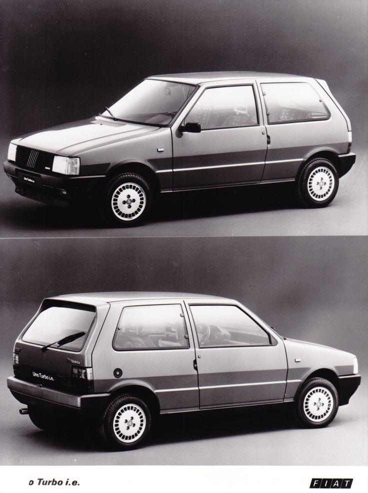 Fiat Uno Turbo i.e. (1986).