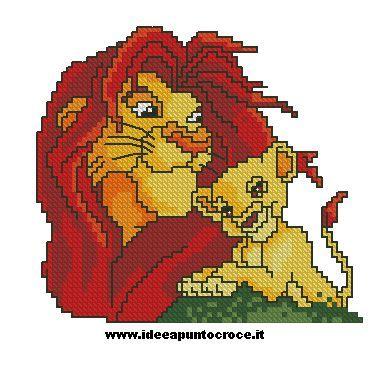 il re leone e simba