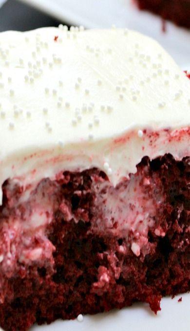 Red Velvet Lava Cake With Cream Cheese Filling