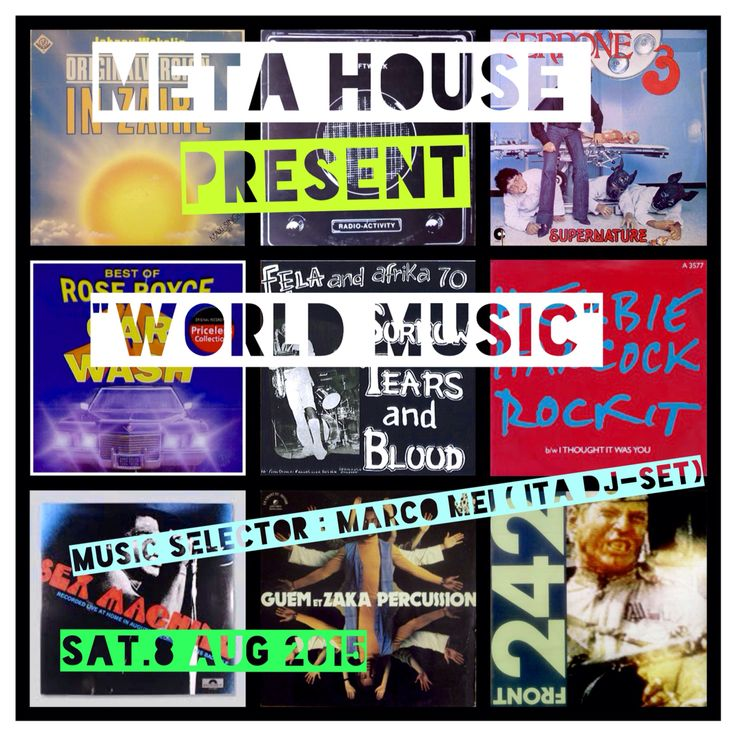 KRAFTWERK , FELA KUTI , CERRONE , JORGE BEN and much more  !! BACK TO MY ROOTS !! Really looking forward for this !! I will play a DjSet of Afro - Rare Groove , electronica , disco and brasil music at Meta House , Phnom Penh on August 8 - ONE NIGHT ONLY ! Don't miss it !