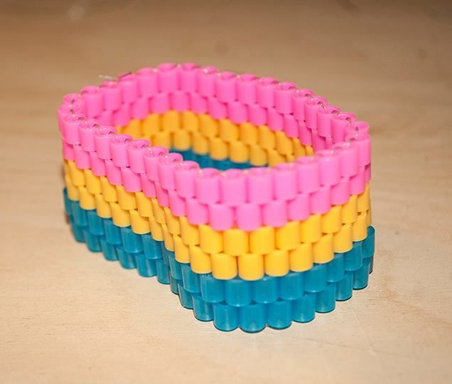 Pansexual Pride Bracelet