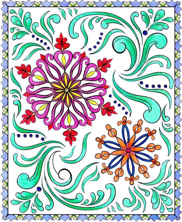 This Image Is From My Nordic Design Colouring Book A Dear Friend Named Aldis Requested
