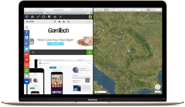 Cum Sa Folositi Split View in OS X El Capitan