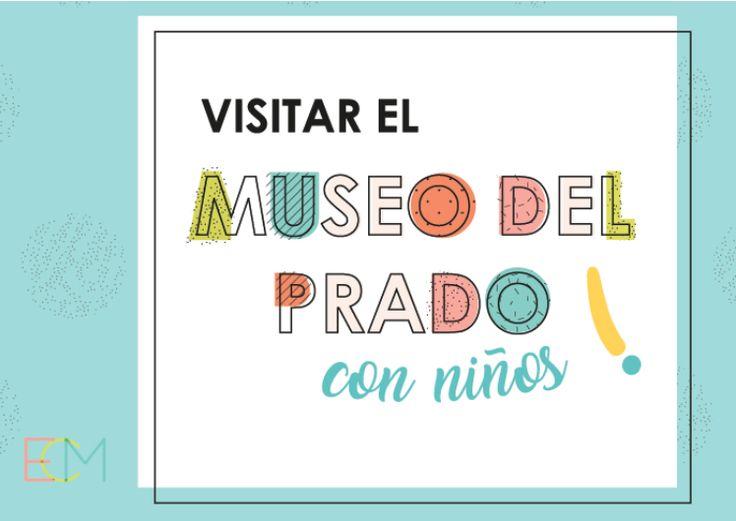 Actividades para niños sobre el museo del Prado, Madrid. diseño gráfico