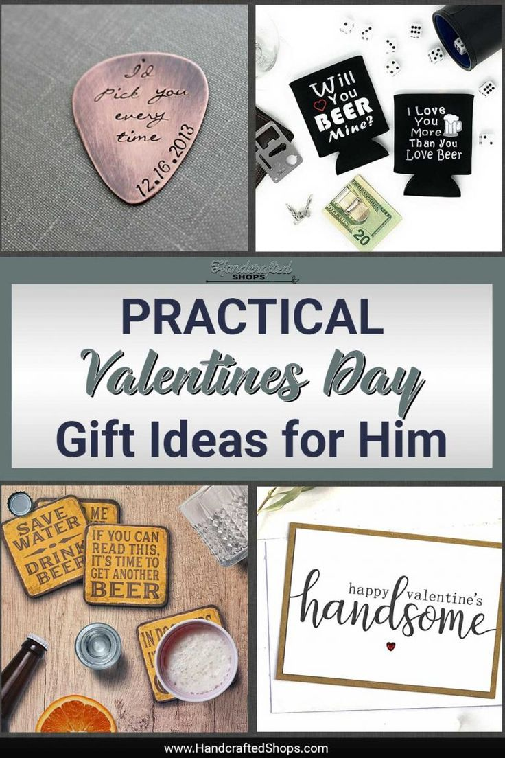 Cute & NonCheesy Valentines Day Gift Ideas for Him