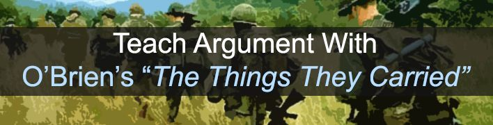 argument on the things they carried In the novel the things they carried, soldier tim o'brien is stationed in vietnam, and faces much psychological turmoil, as do the troops in his company tim o'brien, the author, was also a soldier stationed in vietnam, and in his novel he portrays the many psychological effects.