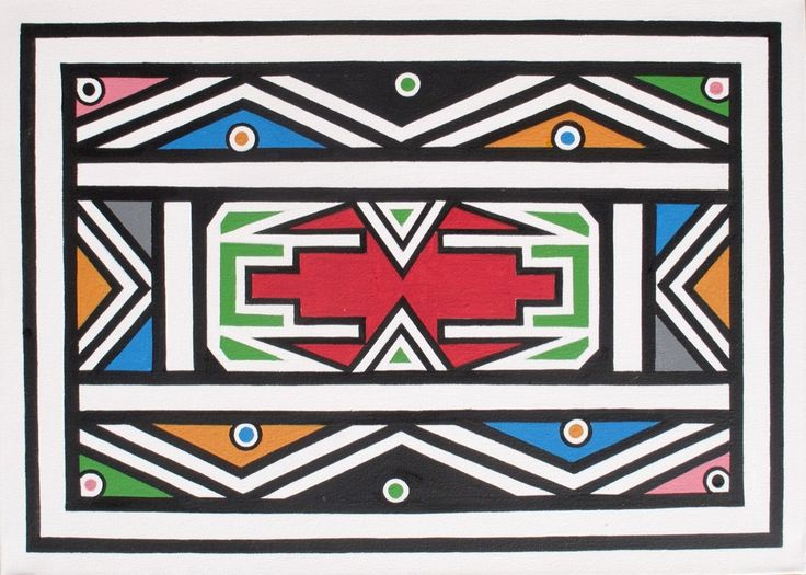 Esther Mahlangu, Abstract, 2016