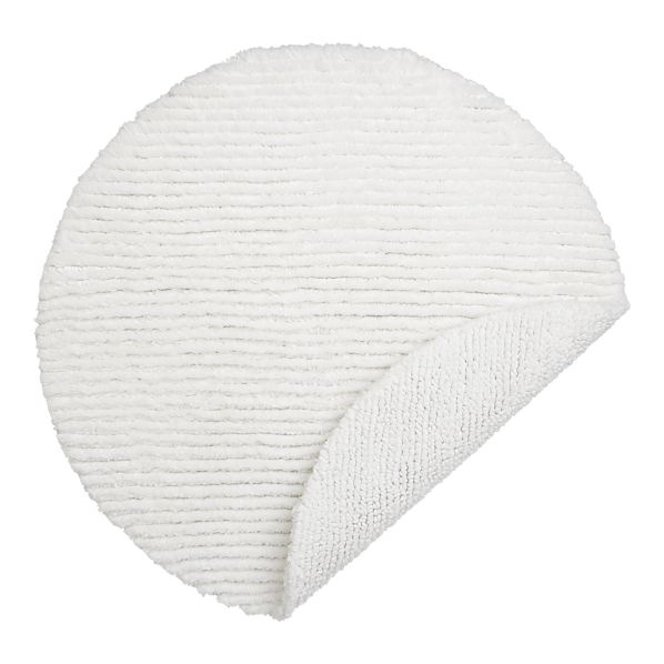 Reversible White Round Bath Rug  24  dia  Luxurious  highly absorbent 3 000. 17 Best images about Rugs on Pinterest   Dhurrie rugs  Kids rugs