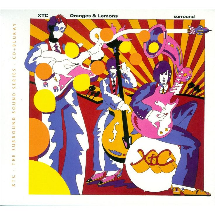 XTC - Oranges & Lemons (The Surround Sound Series) (CD/Blu-Ray)