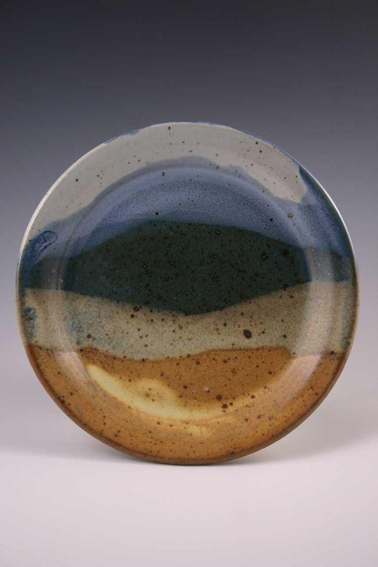 Joan Sinatra Hathaway Ceramic Plate  Landscape plate