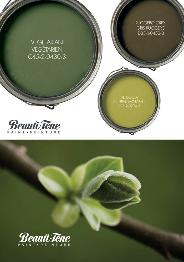 Turn over a new leaf in your décor with #BeautiTone's fresh #palette of naturally beautiful spring greens.
