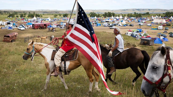 At Camp with the Standing Rock Pipeline Protesters