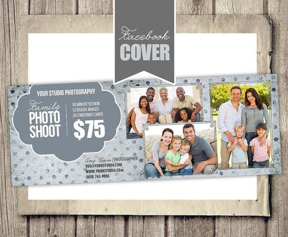Facebook Cover Photo Template  Family Mini by StudioTwentyNine, $8.00