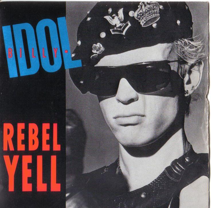 #1980smusic #billyidol- #rebelyell.