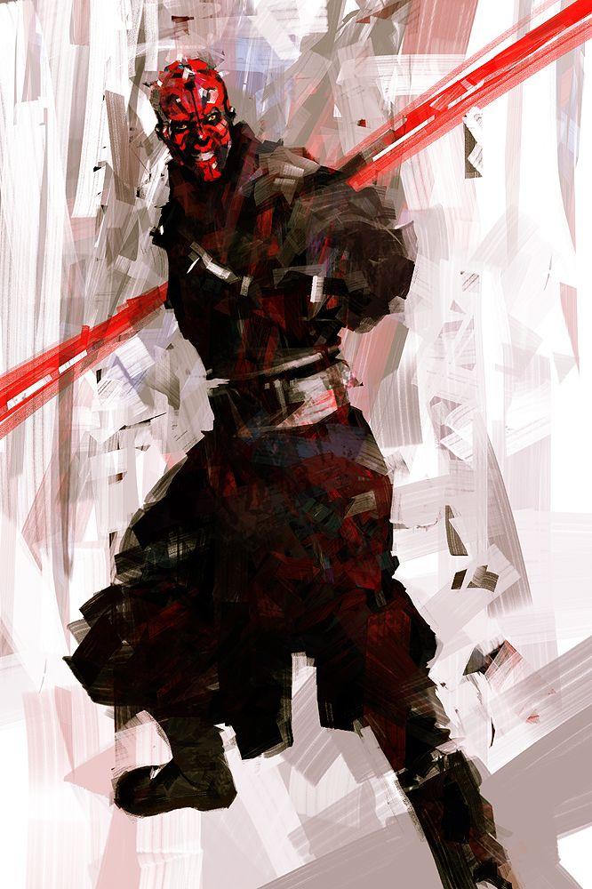 Star Wars - Darth Maul by Billy Sagulo