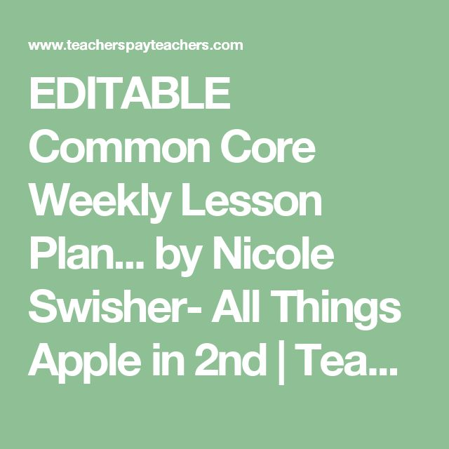 Best 25+ Weekly lesson plan template ideas on Pinterest Teacher - sample toddler lesson plan template