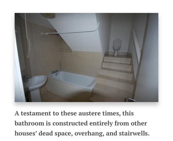 """Terrible Real Estate Photos: """"Would You Poop There?"""" Edition"""