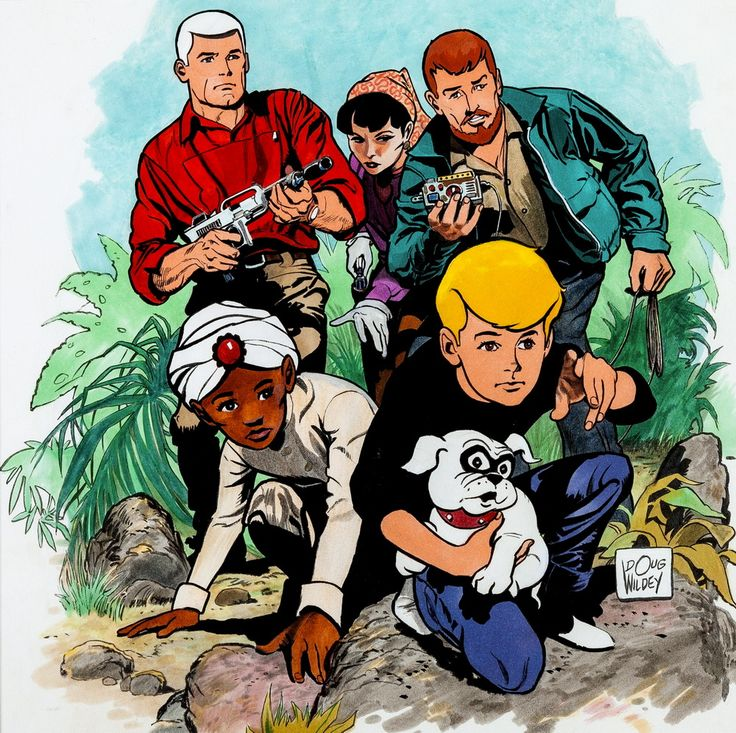 """Jonny Quest"" by Doug Wildey"