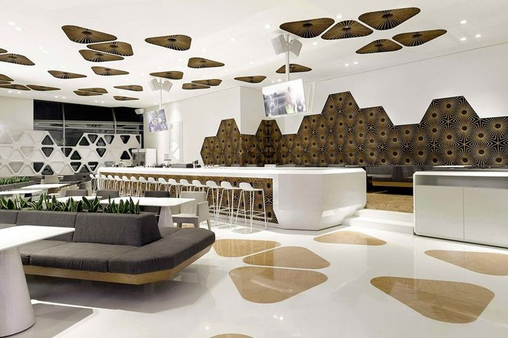 "Irregular Hexagon Pattern for ""Piece of Paradise"" Bar"