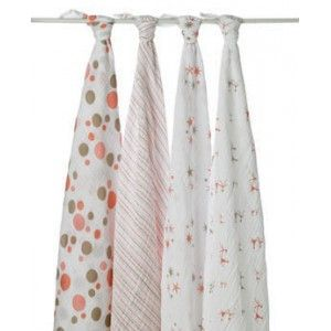 Aden & Anais Star Light Muslin Wraps