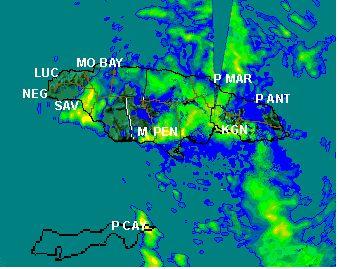 Tropical Depression Ten 2015 - Jamaica Weather Forecast